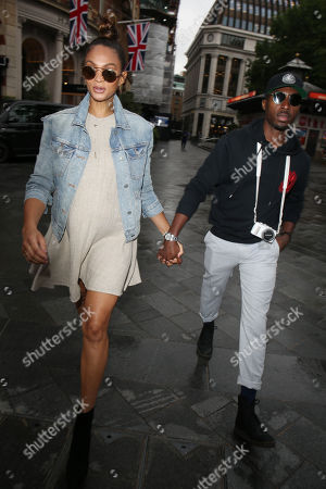 Editorial image of Alesha Dixon out and about, London, UK - 25 Jun 2019