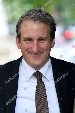 Damian Hinds, Secretary of State for Education, arrives at No.10 Downing Street