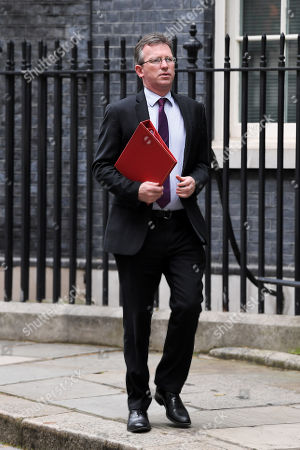Jeremy Wright, Secretary of State for Digital, Culture, Media and Sport, leaves No.10 Downing Street