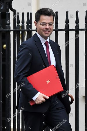 James Brokenshire, Secretary of State for Housing, Communities and Local Government, arrives at No.10 Downing Street