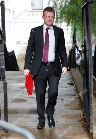 Jeremy Wright, Secretary of State for Digital, Culture, Media and Sport in Downing Street