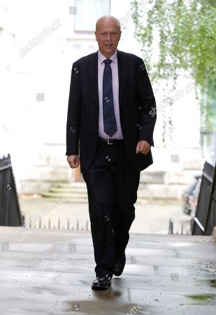 Chris Grayling, Secretary of State for Transport in Downing Street