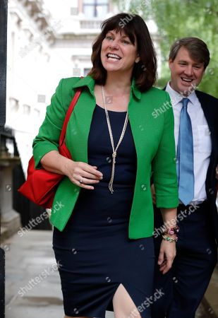 Stock Photo of Claire Perry in Downing Street