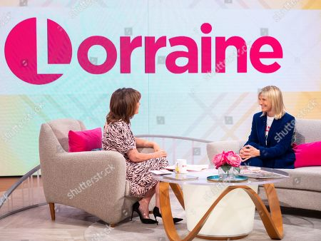 Stock Image of Lorraine Kelly and Jo Wiley
