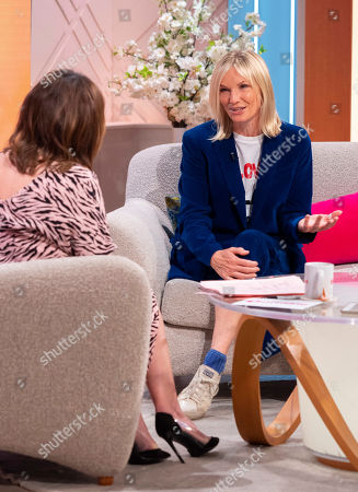 Stock Picture of Lorraine Kelly and Jo Wiley