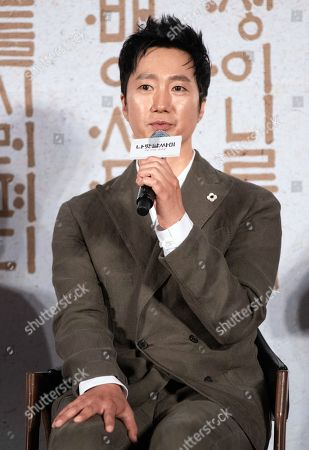 Editorial picture of 'The King's Letters' film press conference, Seoul, South Korea - 25 Jun 2019