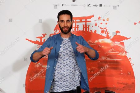 Dani Rovira poses during the presentation of the film 'Los Japon' (lit. The Japan) in Madrid, Spain, 25 June 2019. The film is a comedy based in a true story about a Japanese expedition that disembarked four centuries ago in the town of Cora del Rio in Seville, Spain, to settle there where descendants still live.