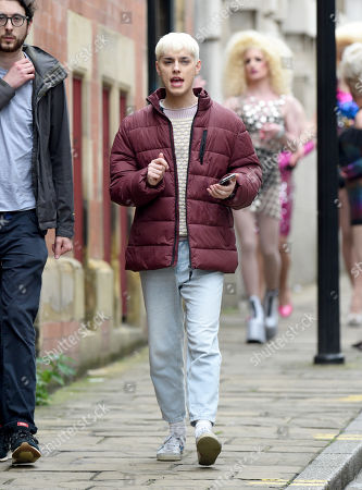 Editorial picture of 'Everybody's Talking About Jamie' on set filming, Sheffield, UK - 24 Jun 2019