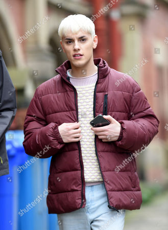 Editorial photo of 'Everybody's Talking About Jamie' on set filming, Sheffield, UK - 24 Jun 2019