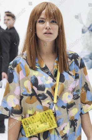 Editorial picture of Dior Men show, Arrivals. Spring Summer 2020, Paris Fashion Week Men's, France - 21 Jun 2019