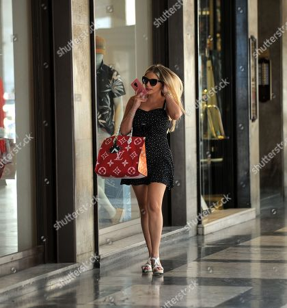 Editorial photo of Francesca Cipriani out and about, Milan, Italy - 24 Jun 2019