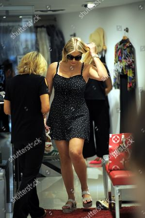 Editorial image of Francesca Cipriani out and about, Milan, Italy - 24 Jun 2019