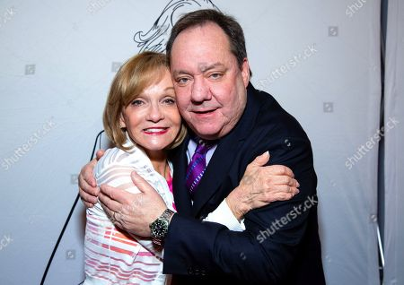 Stock Image of Cathy Rigby and James Nederlander