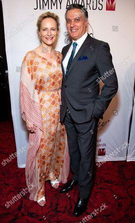 Stock Photo of Laila Robins and Robert Cuccioli