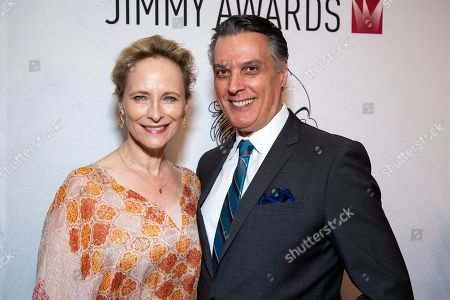 Stock Image of Laila Robins and Robert Cuccioli