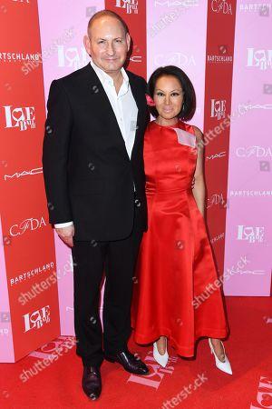 John Demsey and Elena Cho