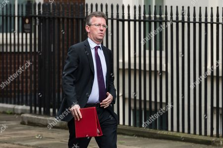 Jeremy Wright, Secretary of State for Digital, Culture, Media and Sport arrives for the weekly Cabinet meeting at 10 Downing Street
