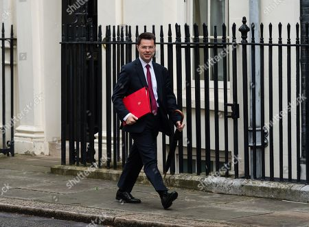 James Brokenshire, Secretary of State for Housing, Communities and Local Government arrives for the weekly Cabinet meeting at 10 Downing Street