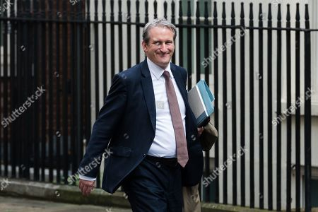 Damian Hinds, Secretary of State for Education arrives for the weekly Cabinet meeting at 10 Downing Street