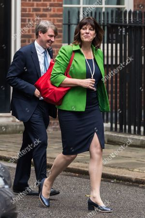 Stock Picture of Claire Perry, Minister of State for Energy and Clean Growth arrives for the weekly Cabinet meeting at 10 Downing Street