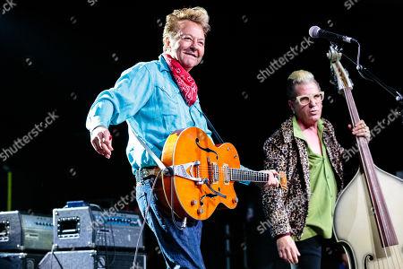 The Stray Cats - Brian Setzer and Lee Rocker