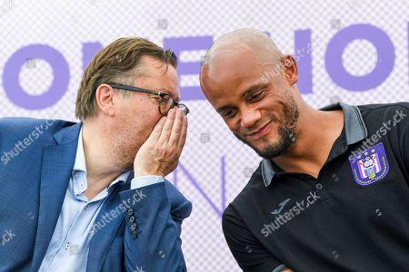 Marc Coucke and Vincent Kompany
