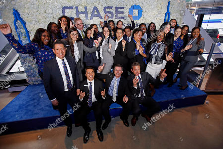 CO- Chase NYC Flaghship staff, in New York