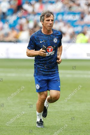 Editorial image of Real Madrid v Chelsea, Corazon Classic match, football, Santiago Bernabeu Stadium, Madrid, Spain - 23 Jun 2019