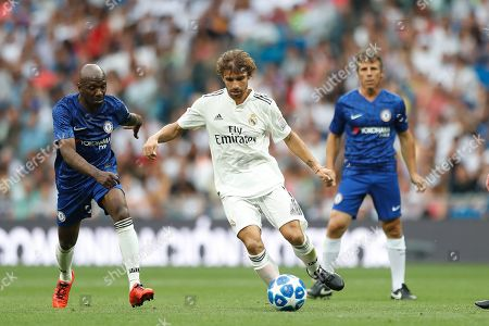 Claude Makelele and Alberto Rivera