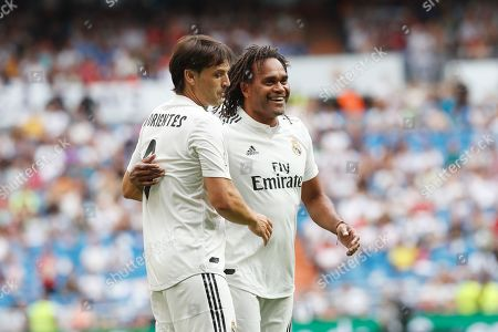 Editorial photo of Real Madrid v Chelsea, Corazon Classic match, football, Santiago Bernabeu Stadium, Madrid, Spain - 23 Jun 2019