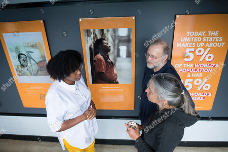 Editorial picture of Ben and Jerry's Celebrates Opening of New Art for Justice Exhibit at , VT Factory, Waterbury, USA - 24 Jun 2019