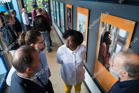 Editorial image of Ben and Jerry's Celebrates Opening of New Art for Justice Exhibit at , VT Factory, Waterbury, USA - 24 Jun 2019