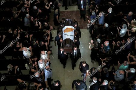 Editorial picture of Christofias Funeral, Nicosia, Cyprus - 25 Jun 2019
