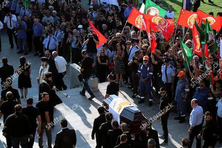 Editorial photo of Christofias Funeral, Nicosia, Cyprus - 25 Jun 2019