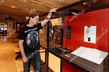 Editorial photo of Home of Metal exhibition, Birmingham Museum and Art Gallery, Birmingham, UK - 25 Jun 2019