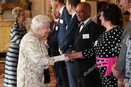 Faith Groups Reception at Buckingham Palace, London