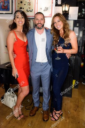 Hayley Sparkes, Fred Sirieix and Gina Dowle