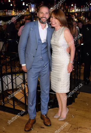 Fred Sirieix and Kay Burley