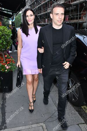 Linzi Stoppard and Will Stoppard