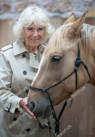 Camilla Duchess of Cornwall visits HorseBack UK, Aboyne