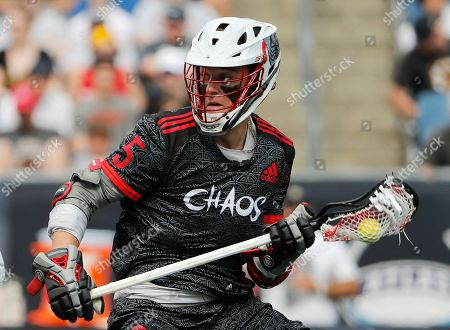 Chaos' Connor Fields during a Premiere Lacrosse League game against Whipsnakes on in Foxborough, Mass