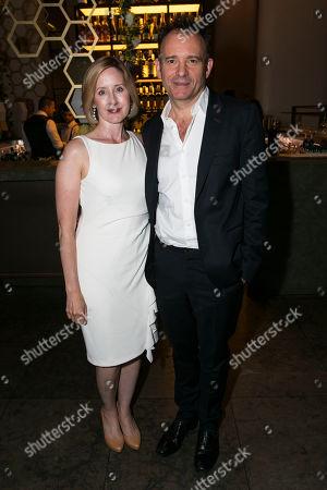 Lauren Ward and Matthew Warchus (Director)