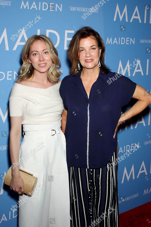 Margaret Colin with daughter Payton