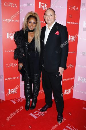 Mary J Blige and John Demsey