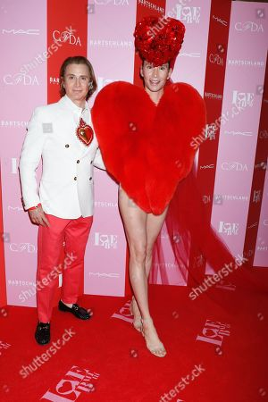 Editorial image of Love Ball III presented by the CFDA and Susanne Bartsch, Arrivals, Gotham Hall, New York, USA - 25 Jun 2019