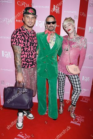 Char Defranesco, Marc Jacobs and Richie Rich
