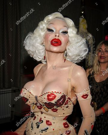 Amanda Lepore attends the Love Ball III HIV/AIDS benefit, hosted by The Council of Fashion Designers of America (CFDA) and Susanne Bartsch, at Gotham Hall, in New York