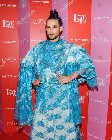 Nico Tortorella attends the Love Ball III HIV/AIDS benefit, hosted by The Council of Fashion Designers of America (CFDA) and Susanne Bartsch, at Gotham Hall, in New York
