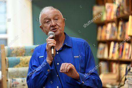 Ken Livingstone speaks during the Livingstone's London Book Launch at Daunt Books on 25th June 2019