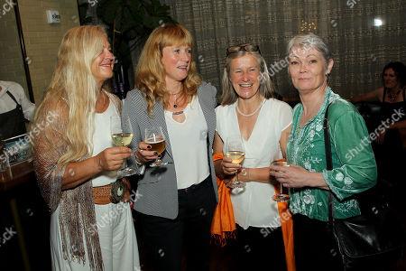 Mikaela Von Koskull, Tanja Visser, Sarah Davies, Tracy Edwards (Skipper)